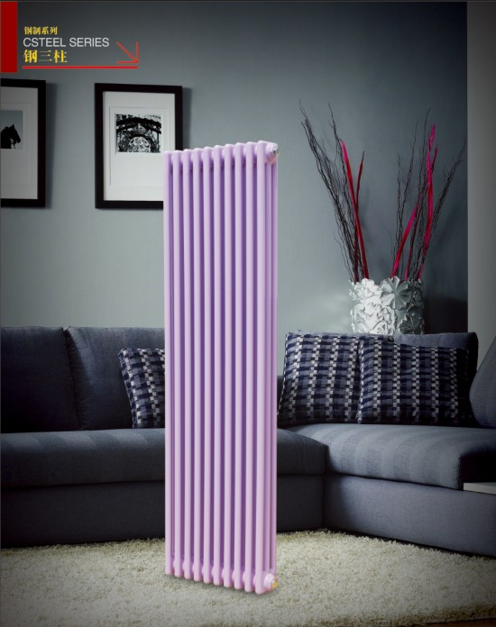 北京散热器:钢三柱。