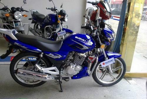 铃木钻豹HJ125K-3A 摩托车报价 豪爵铃木摩托车