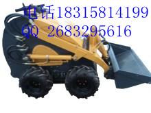 滑移电动小铲车装载机