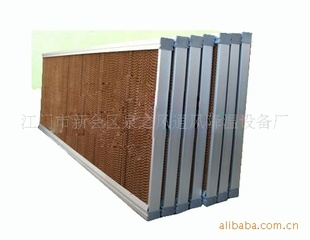 7090水帘多层波纹纤维叠合物湿帘墙