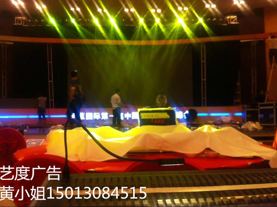 广州服装发布会客户订货会舞台灯光租赁晚会执行策划