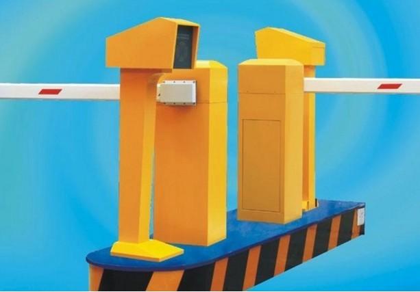 鄂州奔腾自动直杆道闸停车场系统维修广告道闸机厂家