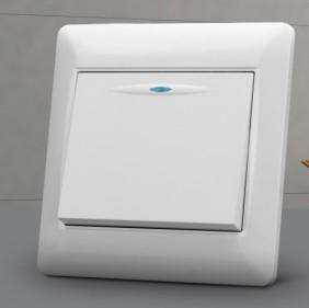 工程系列墙壁开关一位单开 单联开关