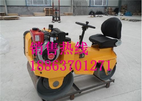 JY700自行式振动压路机 小型座驾式振动压路机