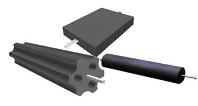 接地模块实体厂家-接地模块材质-石墨-热镀锌扁钢等高级材料