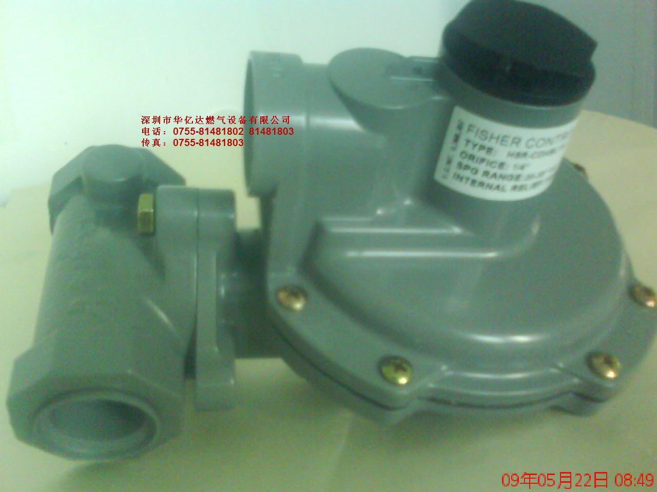 美国Fisher液化气调节阀LOC870减压阀