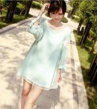 2014新款韩版孕妇装夏装孕妇连衣裙