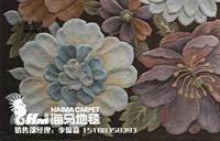河南郑州海马地毯 砖石展厅地毯 玉器店地毯 翡翠店地毯