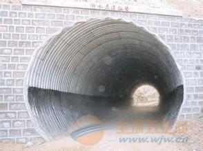 青海/西藏专业生产钢制波纹涵管厂家直销