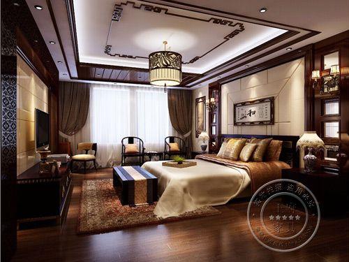 石家庄高档中式酒店双人间家具 ZS-005