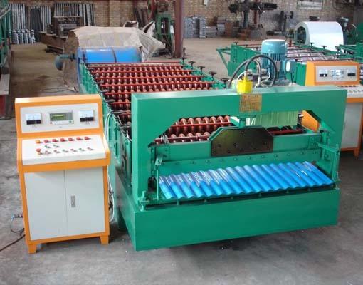 850型全自动水波纹压瓦机