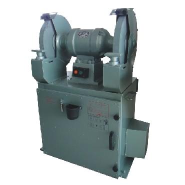 西湖滤板型砂轮机 滤板除尘式砂轮机
