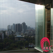 深圳无框阳台窗  折叠推拉窗厂家制作