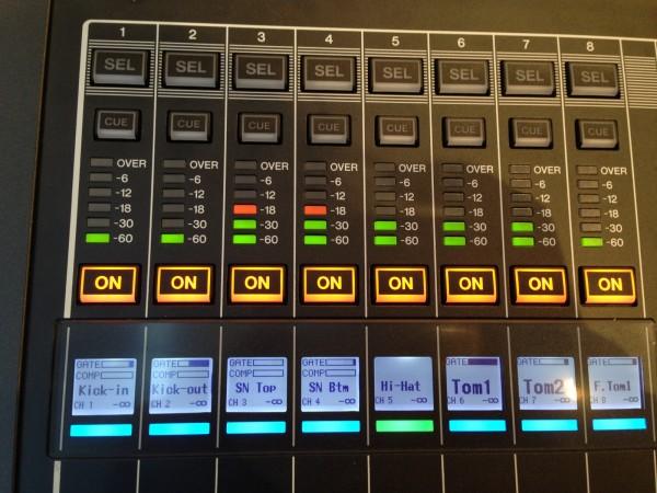 雅马哈QL1触摸屏调音台数字调音台