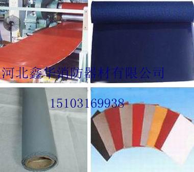 硅胶布丨软连接防火布丨挡烟垂壁防火布丨硅胶防火毯