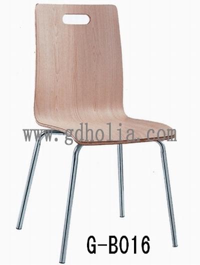 弯曲木餐椅,不锈钢椅子,电镀椅,广东家具厂批发直销