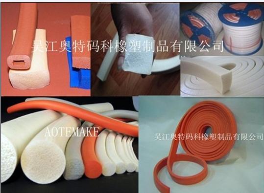 耐高温硅胶海绵密封条