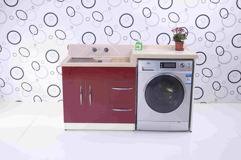 橡胶木洗衣柜、桦木洗衣柜