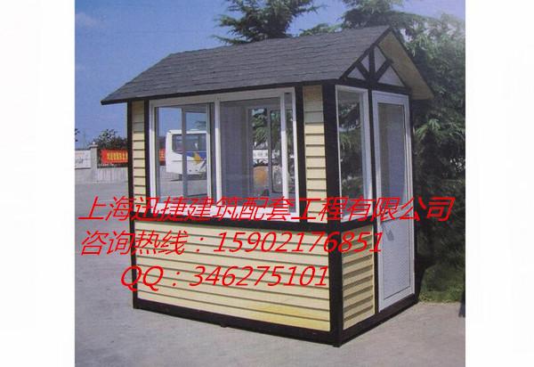 防腐木岗亭施工图,木质景观亭,欧式木质售货亭图片