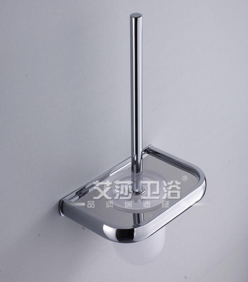 不锈钢浴室马桶刷架仿古镀金304青花瓷烤瓷全纯铜洁具