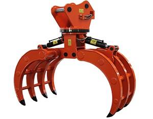 安徽供应360度液压可回转挖掘机抓木器