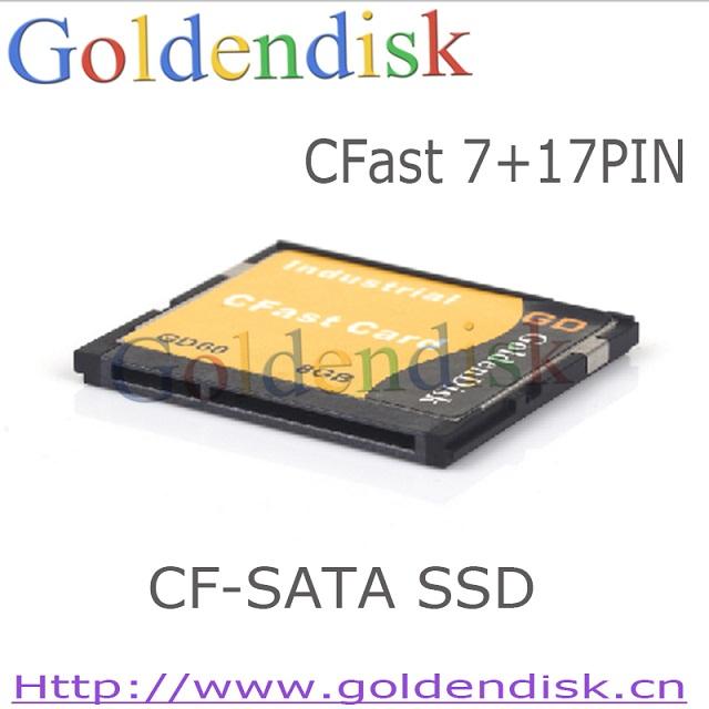 Goldendisk 工规CFAST 卡 8g