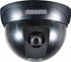 佛山闭路监控彩色半球摄像机