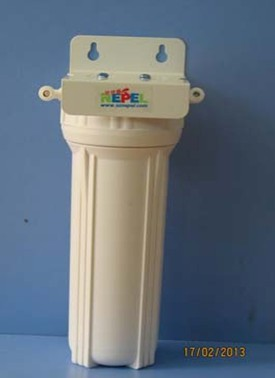 供应尼佳康单级白色(透明)前置净水器2分口、4分口 壁挂式过滤器