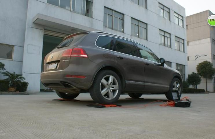 进口高精度便携式汽车轴重仪性能卓越!