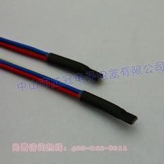 黑色双壁管 带胶双壁热缩管 热缩双壁管 防水热缩绝缘套管