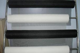 防火阻燃型--黑色隐形窗纱