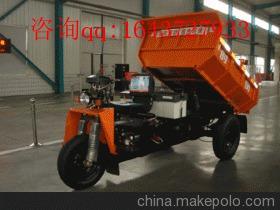 时风纯电动矿用自卸车三轮车 时风农用车厂家 时风三轮车出售