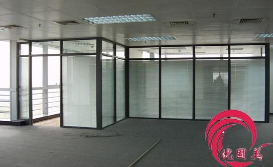 深圳办公室隔断  玻璃隔间  高隔间安装