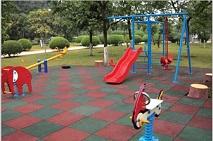 户外儿童游乐场游艺安全地垫橡胶地垫