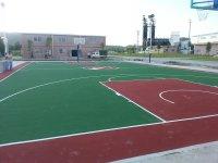 户内外丙烯酸篮球场网球场羽毛球场地胶地坪漆