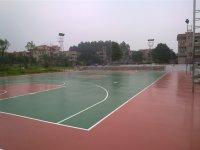 篮球场、网球场、羽毛球场硅PU塑胶球场