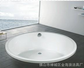 高端享受佛山现代微晶石浴缸
