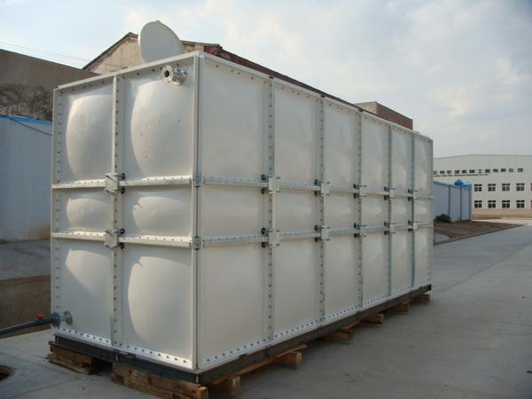 玻璃钢养鱼池 拼装式玻璃钢水箱 玻璃钢生活饮用水箱