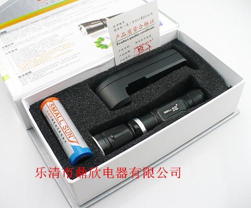 3档充电强光手电,ZY-C84小太阳伸缩手电