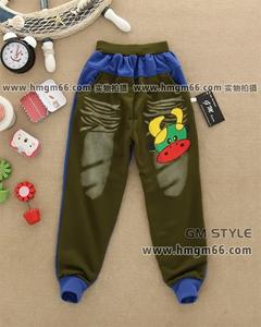 纯棉儿童长裤批发低价童长裤批发便宜儿童长裤