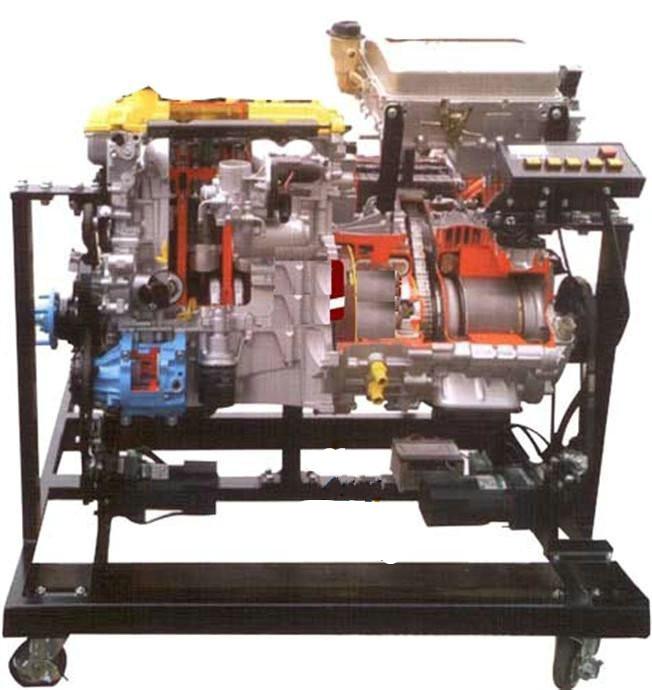 汽车新能源教学设备(汽车油电混合动力实训台,电动汽车实训设备,电