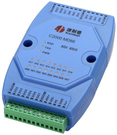 开关量信号采集,I/O转485模块