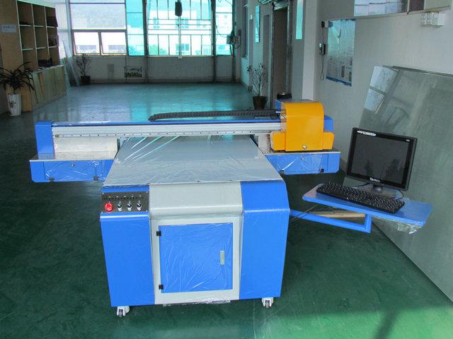 双喷头双向打印玻璃打印机生产效率高