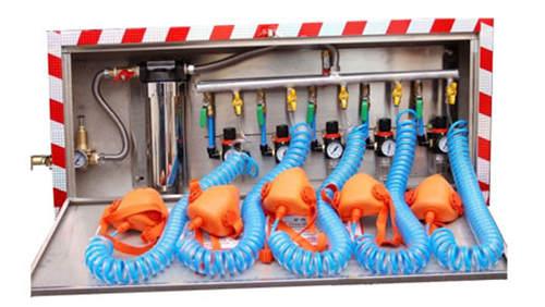 矿井箱式压水自救装置,矿井压风自救供水系统