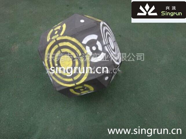 多面球形箭靶