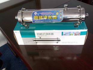 不锈钢净水器 家用净水机 600L卧式超滤净水器厂家 厨房用大流