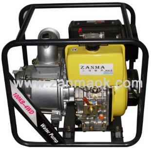 上海赞马4寸柴油污水泵,排污泵,抽水机