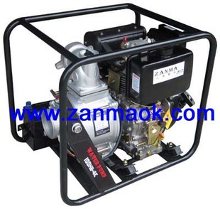 上海赞马4寸柴油污水泵,排污泵,抽水机,柴油水泵