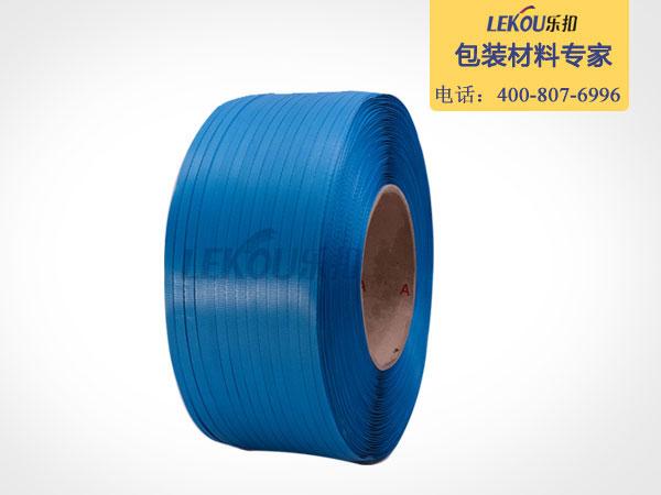 南京乐扣-蓝色机用pp打包带|全新料打包带|按米计算节约成本20