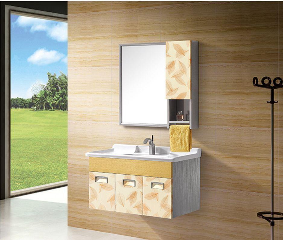 304不锈钢浴室柜卫浴柜美容镜